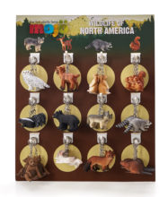 North American Wildlife Keychains