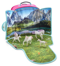 Fantasy Play-Scape Backpack Set, with 4 figures