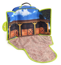 Horse Stable Play-Scape Backpack
