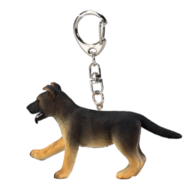 German Shepherd Puppy Keychain