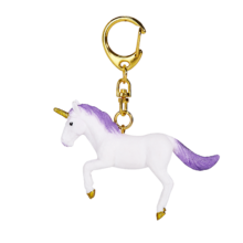 Unicorn Keychain Rearing Purple