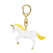 Unicorn Keychain Rearing Yellow